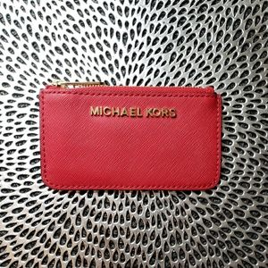 Michael Kors Key Pouch Card Case